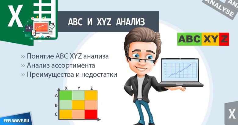 ABC и XYZ анализ – что это такое?