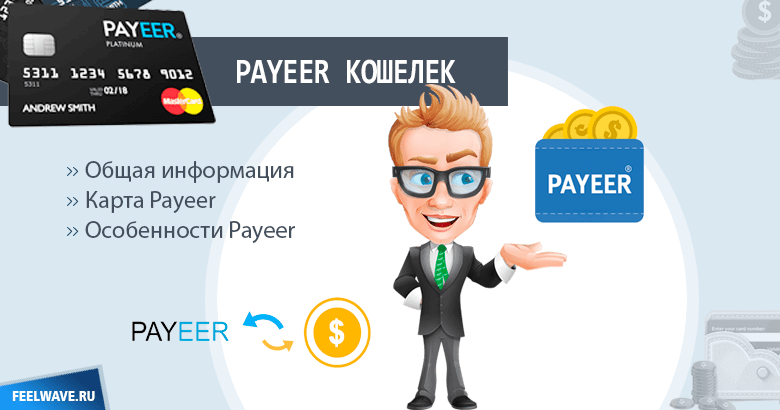 Payeer кошелек: вход в личный кабинет и особенности системы