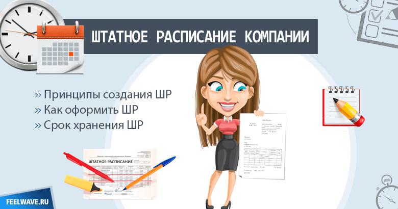 Принципы создания штатного расписания компании