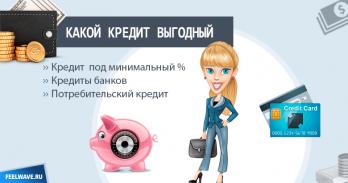 Выгодный кредит: лучшие предложения банков